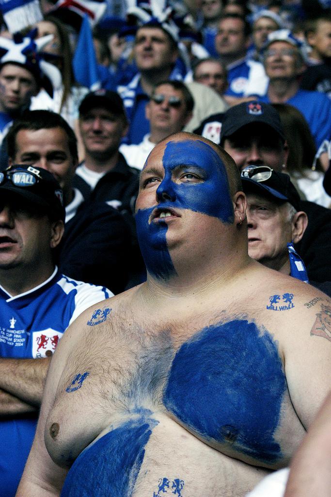 FA Cup Final 2004 Fans © Rob Watkins