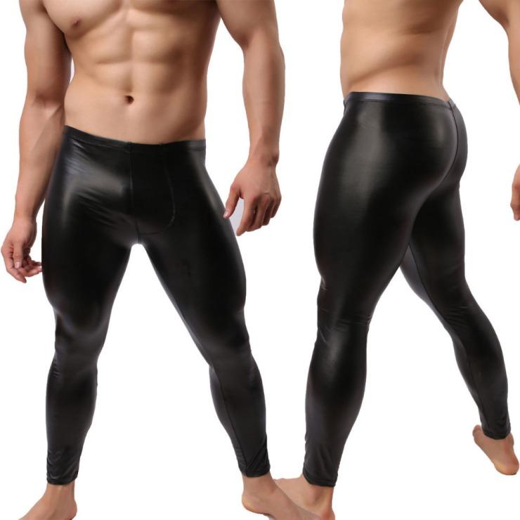 2015-new-style-Fashion-Men-s-Faux-Leather-Tight-Pants-Man-Leggings-PVC-Long-Trousers-Man